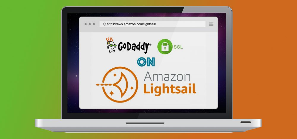 Godaddy SSL on Amazon Lightsail